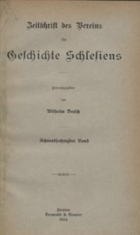 Zeitschrift des Vereins für Geschichte Schlesiens 1934, Bd. 68