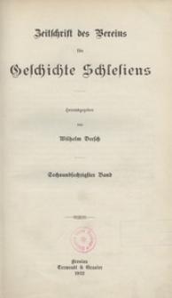 Zeitschrift des Vereins für Geschichte Schlesiens 1932, Bd. 66