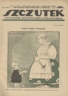 Szczutek, 1922, R. 5, nr 52