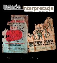 Relacje-Interpretacje, 2015, nr 3 (39)