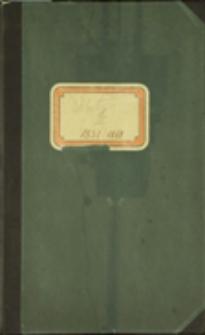 Księga ślubów Parafii Ewangelicko-Augsburskiej w Cieszynie, T. 3, 1851-1868, sygn. 1069