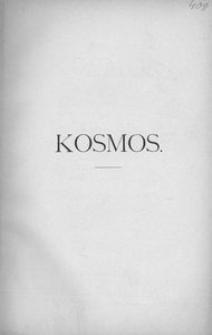 Kosmos, 1889, R. 14
