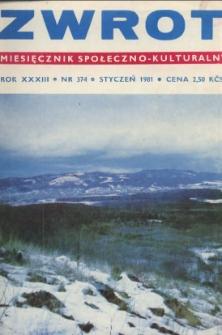 Zwrot, R. 33 (1981), Nry 1-12