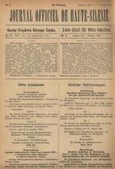 Journal Officiel de Haute-Silesie, 1920, nr 8