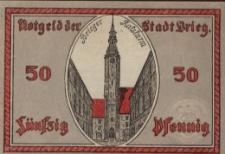 Brzeg. Pieniądz zastępczy 1921 r.