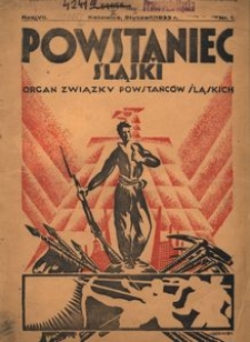 Powstaniec Śląski, 1933, R. 7, nr 1