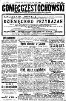 Goniec Częstochowski, 1925, R. 20, No 236
