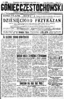 Goniec Częstochowski, 1925, R. 20, No 238