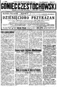 Goniec Częstochowski, 1925, R. 20, No 239