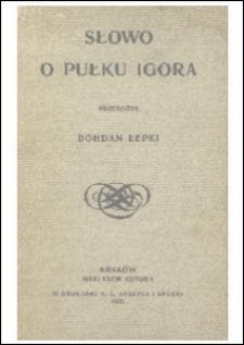 Słowo o pułku Igora