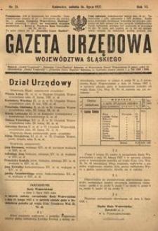 Gazeta Urzędowa Województwa Śląskiego, 1927, R. 6, nr 21