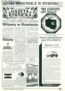Gazeta Rybnicka, 1992, nr 22 (74)