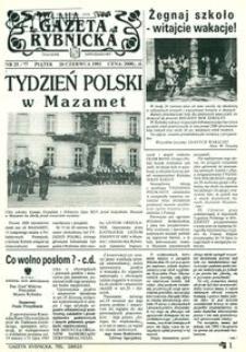 Gazeta Rybnicka, 1992, nr 25 (77)