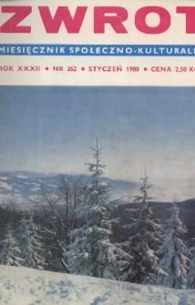 Zwrot, R. 32 (1980), Nry 1-12