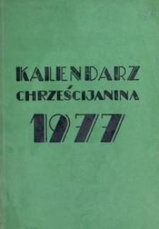 Kalendarz Chrześcijanina 1977