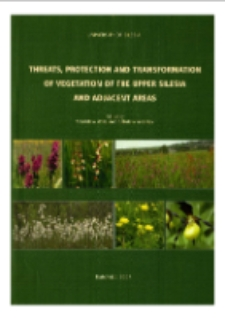 Threats, protection and transformation of vegetation of The Upper Silesia and adjacent areas