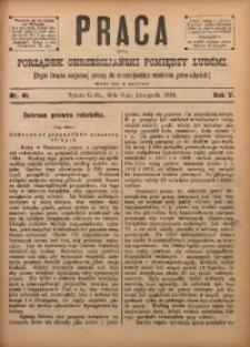 Praca, 1894, R. 5, Nr. 45