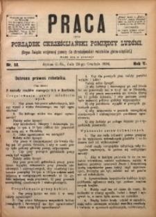 Praca, 1894, R. 5, Nr. 52