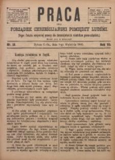 Praca, 1895, R. 6, Nr. 15