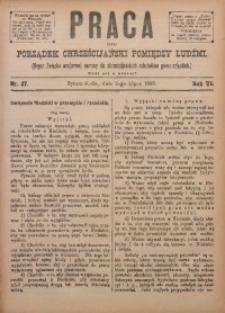 Praca, 1895, R. 6, Nr. 27