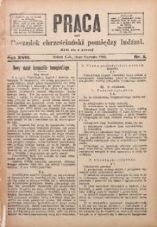 Praca, 1908, R. 18, Nr. 2