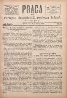 Praca, 1908, R. 18, Nr. 8
