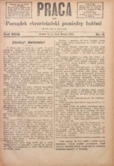 Praca, 1908, R. 18, Nr. 9