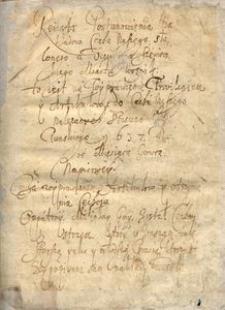 Księga cechowa miasta Woźnik z lat 1632-1740