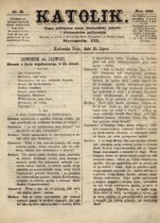 Katolik, 1870, R. 3, nr 31