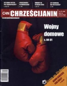 Chrześcijanin, 2012, nr 1/6