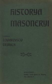 Historya masoneryi i innych towarzystw tajnych