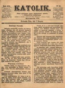 Katolik, 1873, R. 6, nr 32