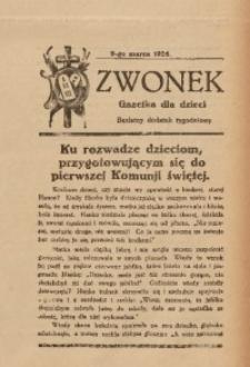 Dzwonek, 9 marca 1926
