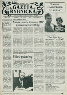 Gazeta Rybnicka, 1993, nr 6 (109)