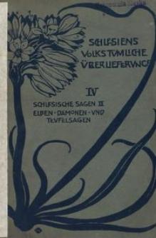 Schlesische Sagen. 2, Elben- Daemonen und Teufelsagen