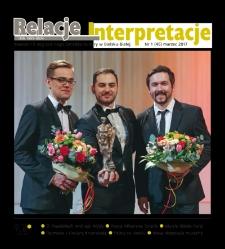 Relacje-Interpretacje, 2017, nr 1 (45)