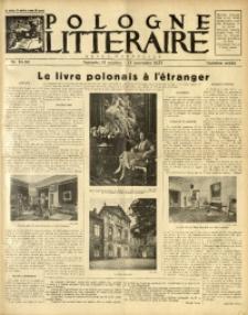 Pologne Littéraire, 1933, A. 8, Nr. 85/86