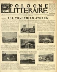 Pologne Littéraire, 1934, A. 9, Nr. 90