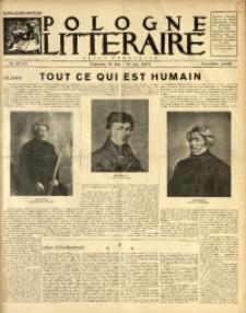 Pologne Littéraire, 1934, A. 9, Nr. 92/93