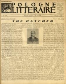 Pologne Littéraire, 1934, A. 9, Nr. 94/95