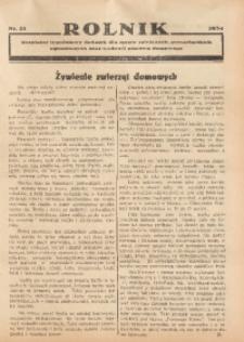 Rolnik, 1934, [R. 32], nr 21