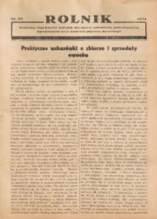 Rolnik, 1934, [R. 32], nr 22