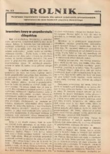 Rolnik, 1934, [R. 32], nr 23