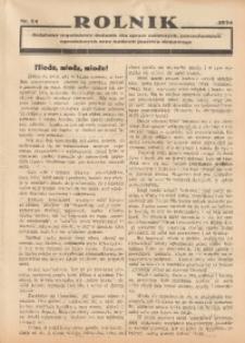 Rolnik, 1934, [R. 32], nr 24