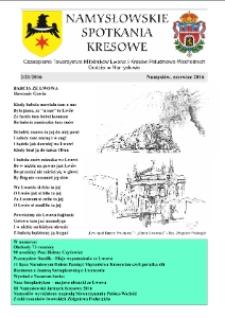 Namysłowskie Spotkania Kresowe 2016, nr 2 (21).