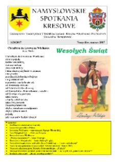Namysłowskie Spotkania Kresowe 2017, nr 1 (24).