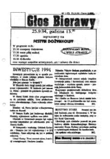 Głos Bierawy 1994, nr 1 (2).