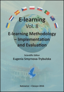 E-learning methodology - implementation and evaluation : monograph