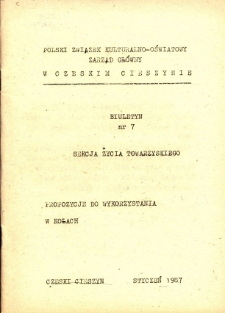 Biuletyn, Nr 7