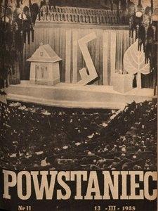 Powstaniec, 1938, R. 12, nr 11
